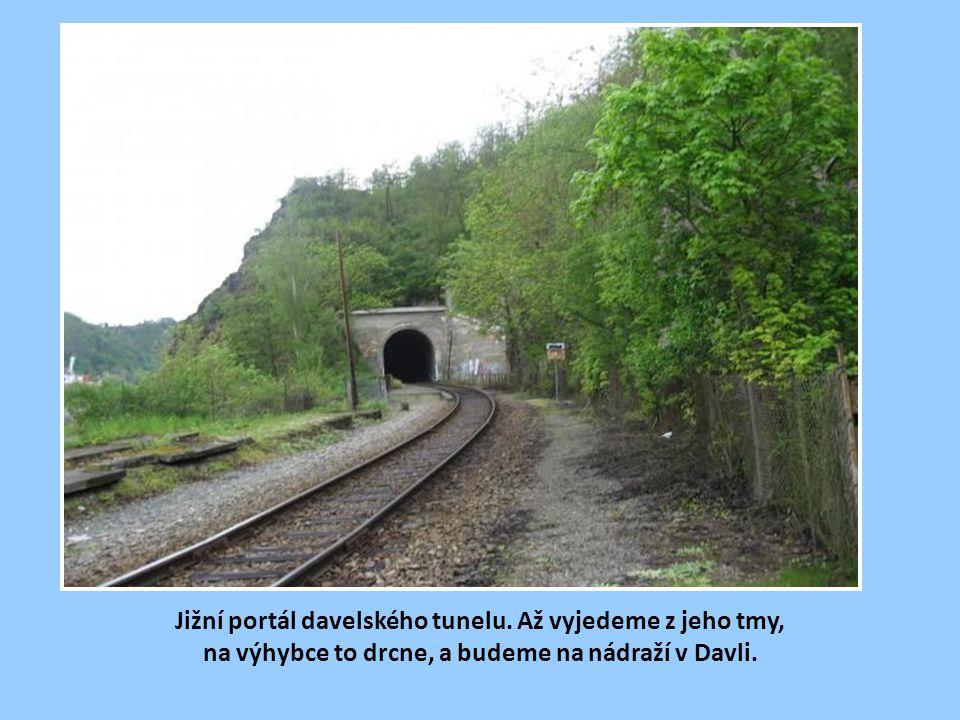 Jižní portál davelského tunelu