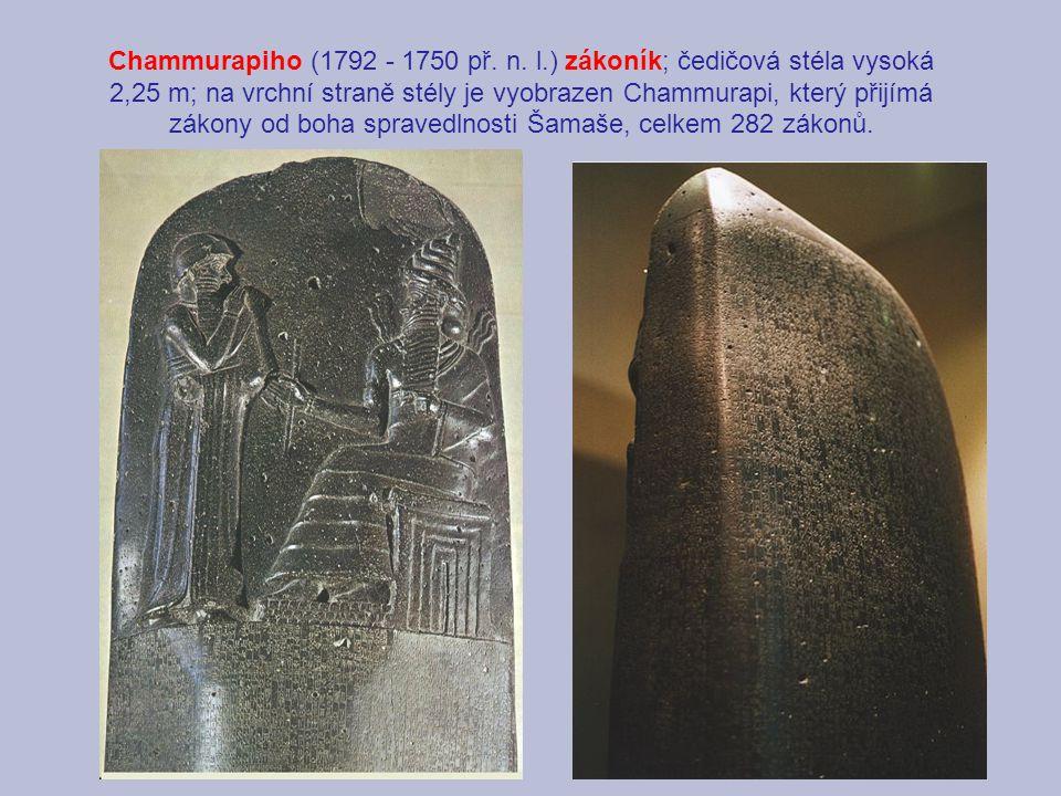 Chammurapiho (1792 - 1750 př. n.