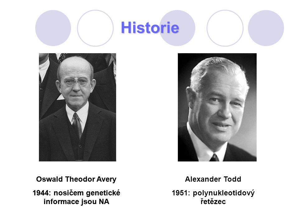 Historie Oswald Theodor Avery
