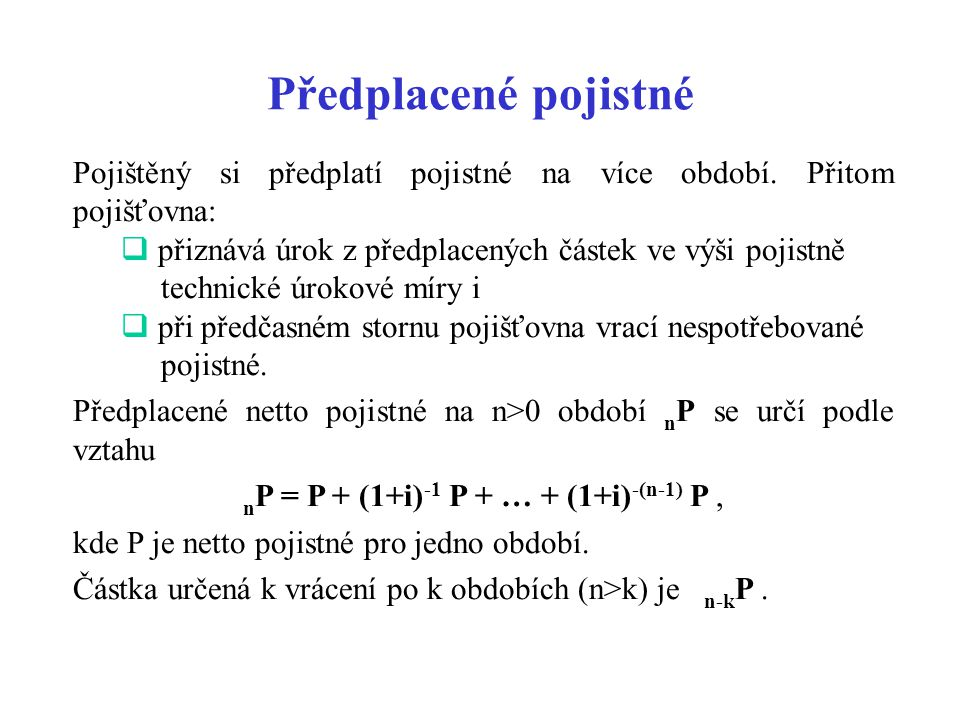nP = P + (1+i)-1 P + … + (1+i)-(n-1) P ,