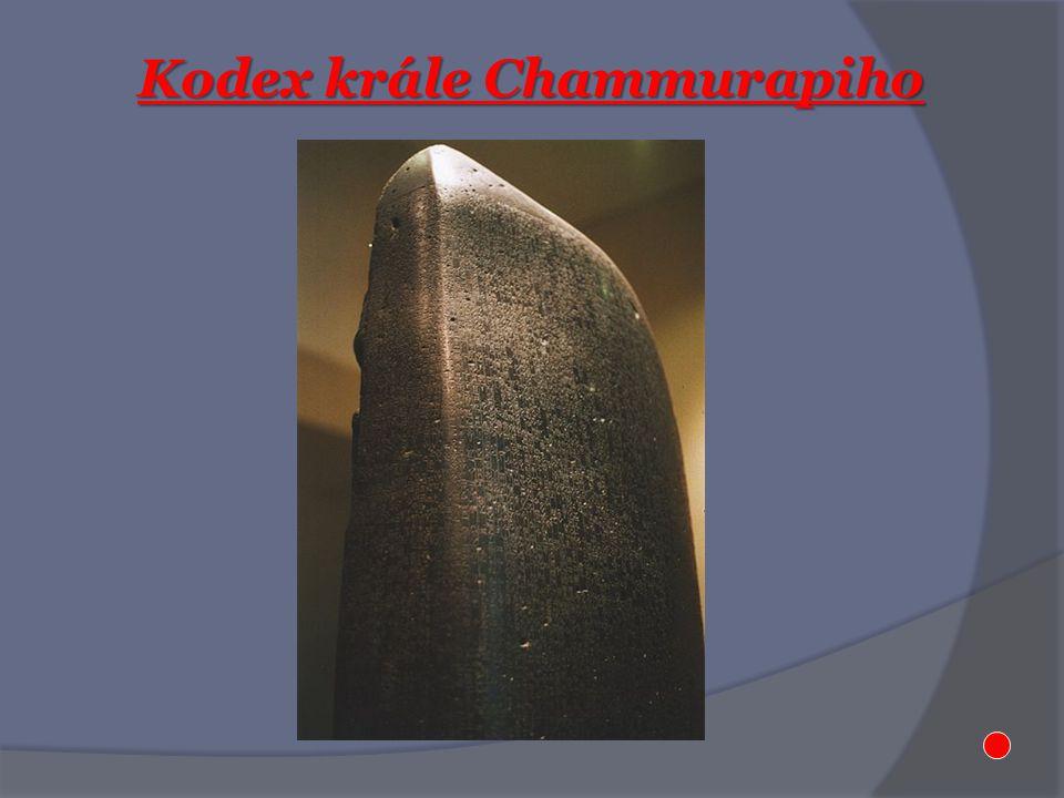 Kodex krále Chammurapiho