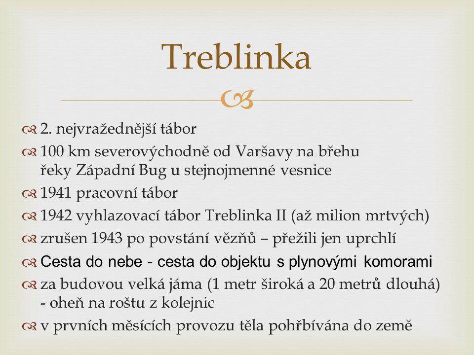 Treblinka 2. nejvražednější tábor