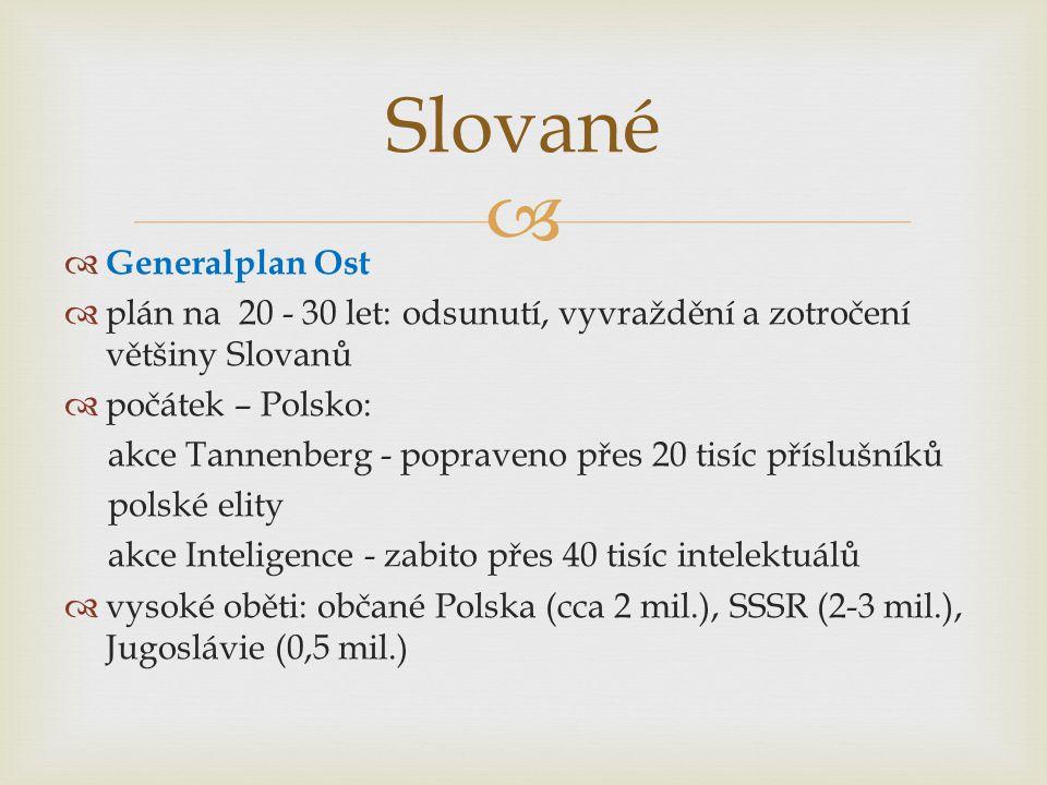 Slované Generalplan Ost