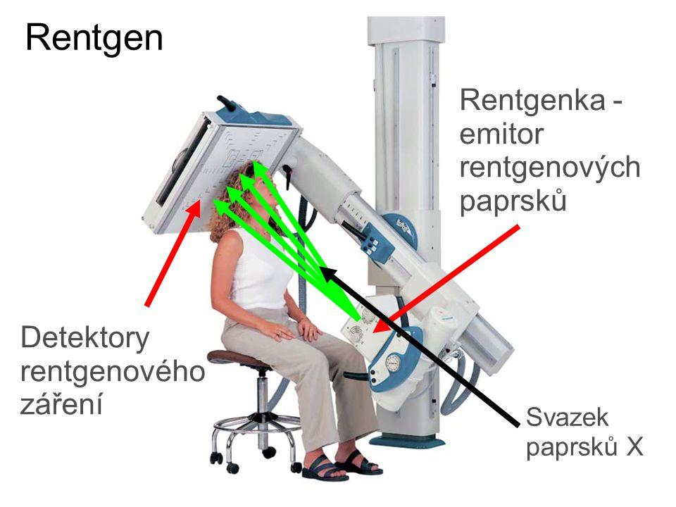 Rentgen Rentgenka - emitor rentgenových paprsků