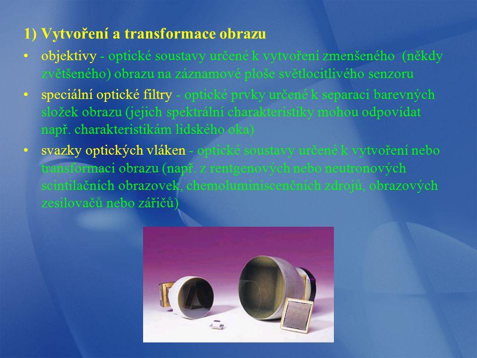 1) Vytvoření a transformace obrazu