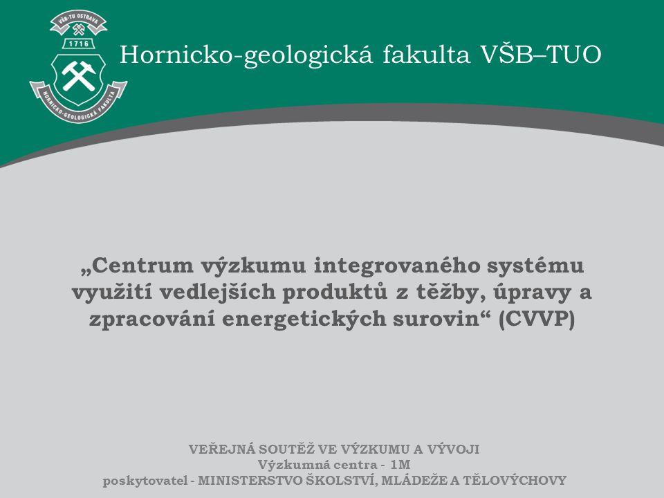 Hornicko-geologická fakulta VŠB–TUO