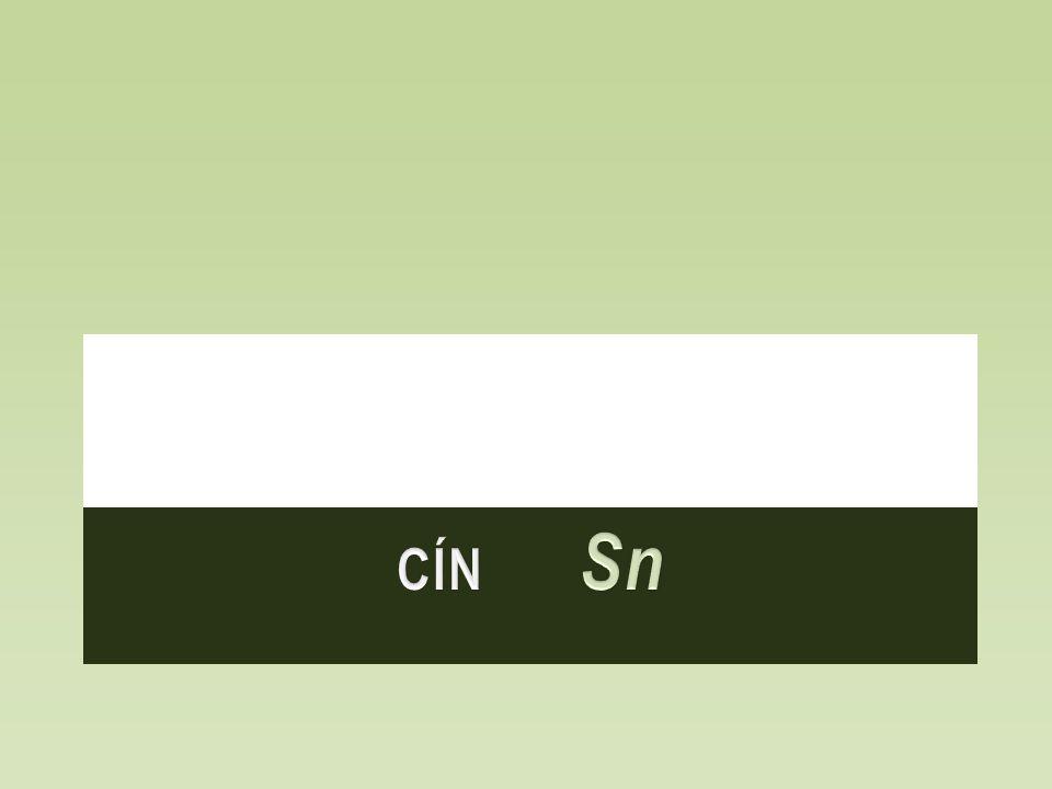 Cín Sn