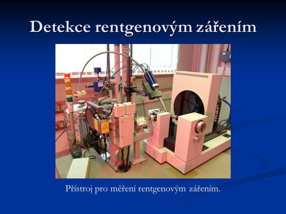 Detekce rentgenovým zářením