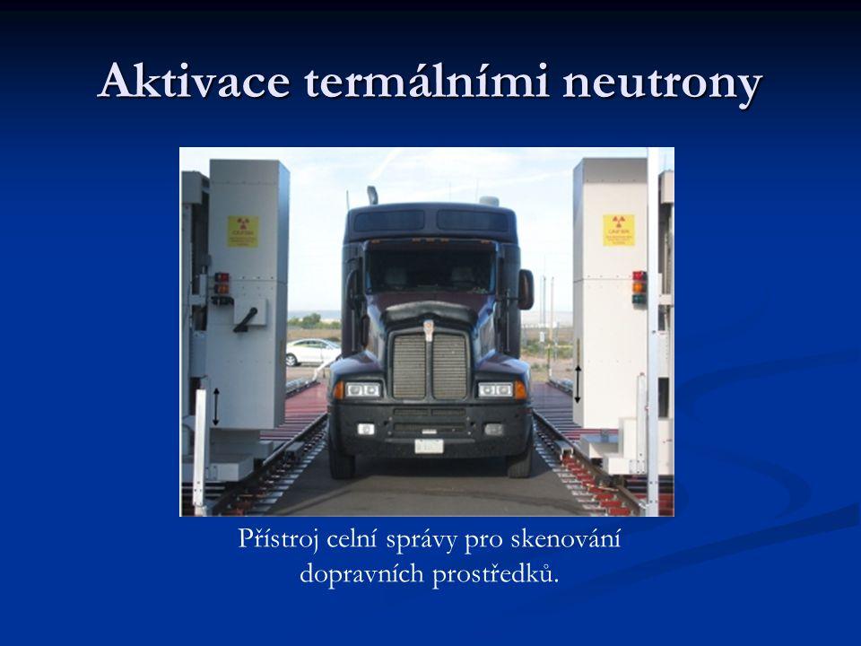 Aktivace termálními neutrony
