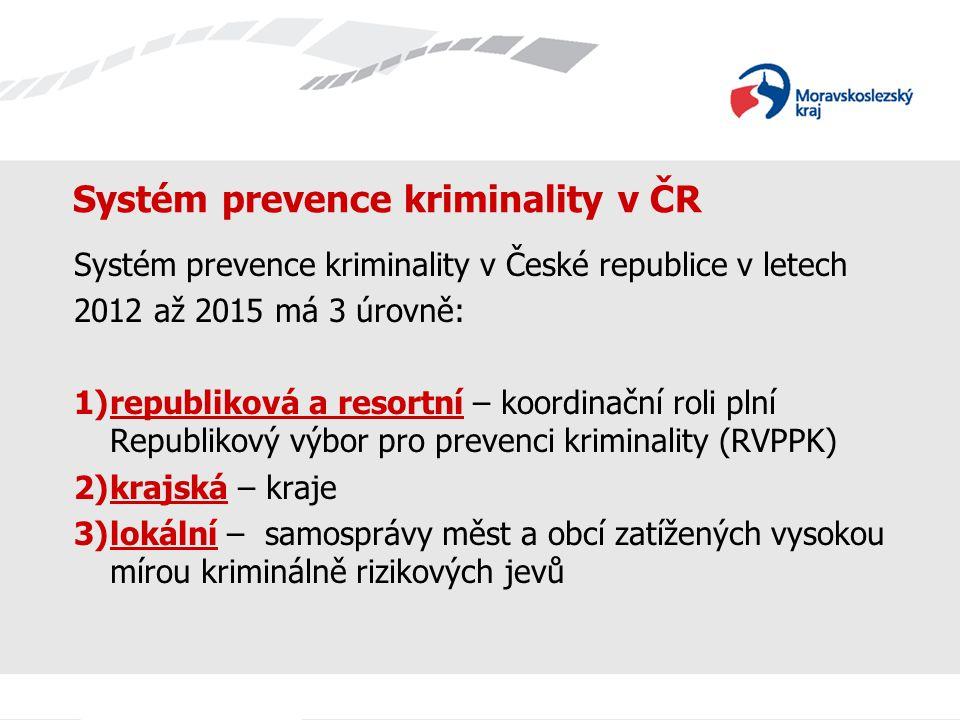 Systém prevence kriminality v ČR