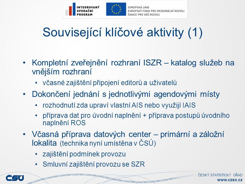 Související klíčové aktivity (1)