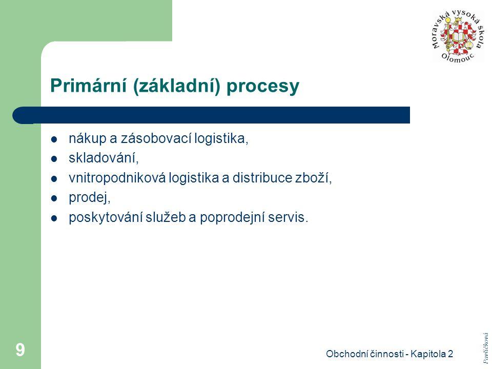 Primární (základní) procesy