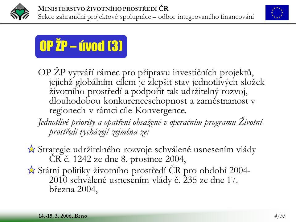 OP ŽP – úvod (3)