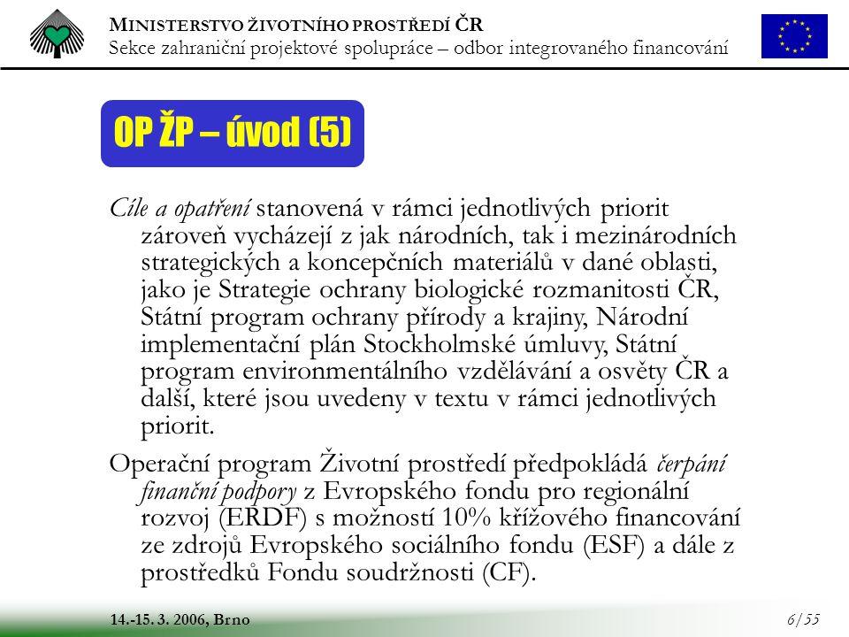 OP ŽP – úvod (5)