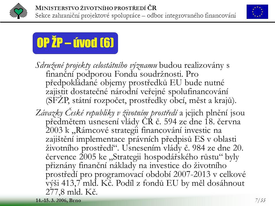 OP ŽP – úvod (6)