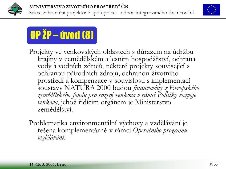 OP ŽP – úvod (8)