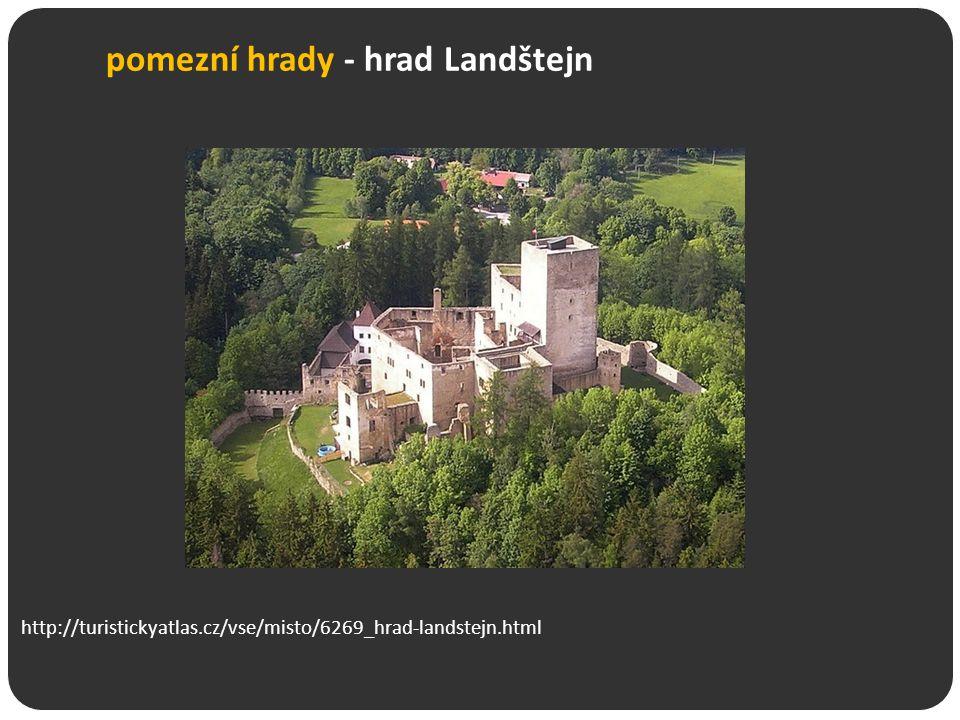 pomezní hrady - hrad Landštejn