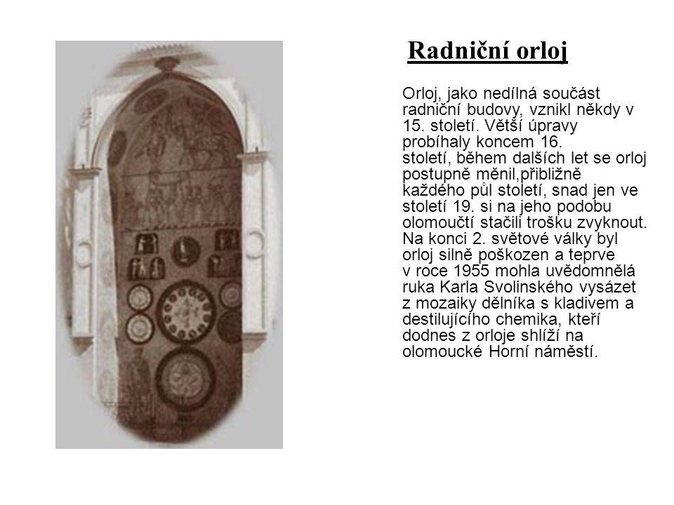 Radniční orloj