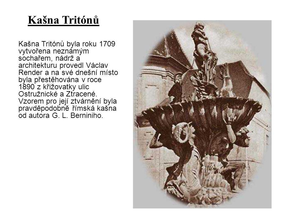 Kašna Tritónů