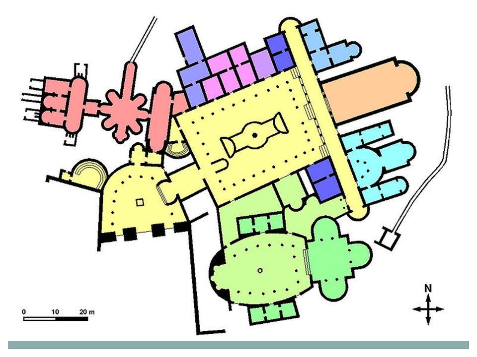 Vily pohodlné stavby i s centrálním vytápěním a lázněmi