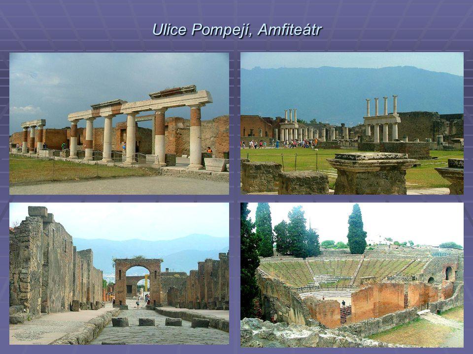 Ulice Pompejí, Amfiteátr