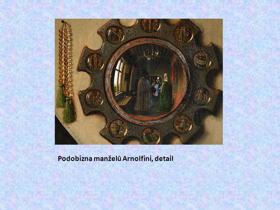 Podobizna manželů Arnolfini, detail