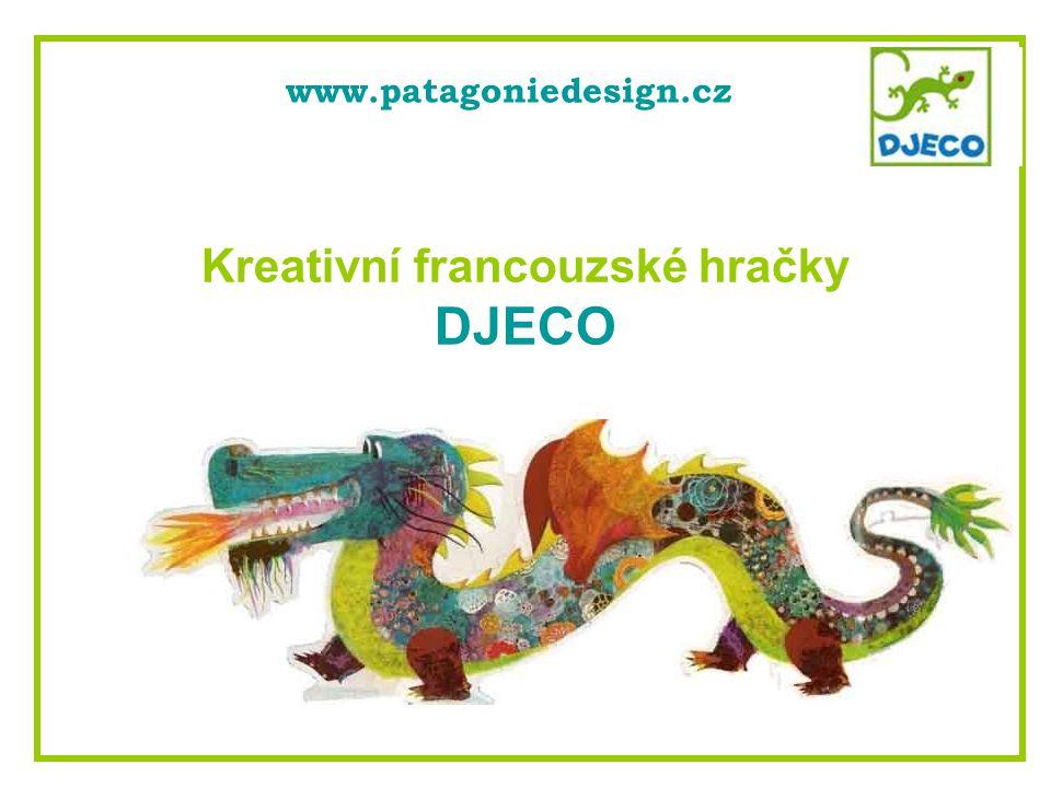 Kreativní francouzské hračky DJECO