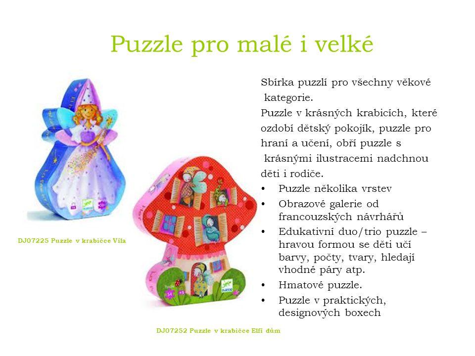 Puzzle pro malé i velké Sbírka puzzlí pro všechny věkové kategorie.
