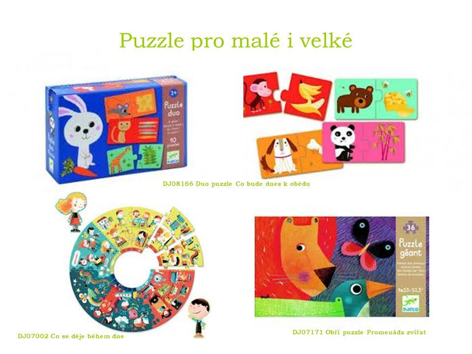 Puzzle pro malé i velké DJ08166 Duo puzzle Co bude dnes k obědu