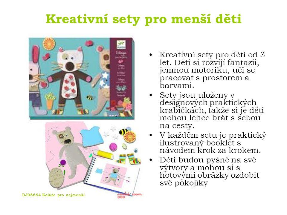 Kreativní sety pro menší děti