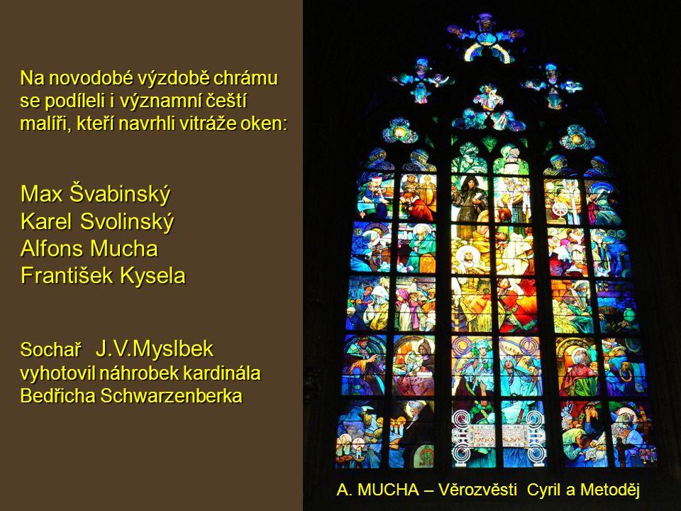 A. MUCHA – Věrozvěsti Cyril a Metoděj