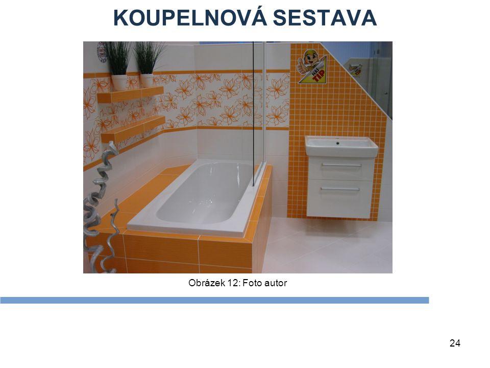 KOUPELNOVÁ SESTAVA Obrázek 12: Foto autor Zdroje Textová stránka