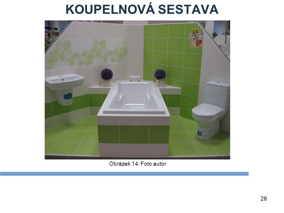 KOUPELNOVÁ SESTAVA Obrázek 14: Foto autor Zdroje Textová stránka