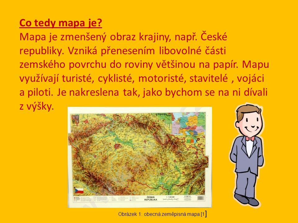 Co tedy mapa je
