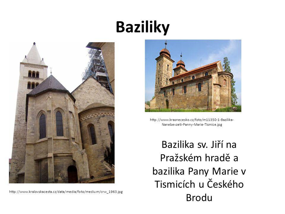 Baziliky http://www.krasnecesko.cz/foto/m11350-1-Bazilika-Nanebevzeti-Panny-Marie-Tismice.jpg.