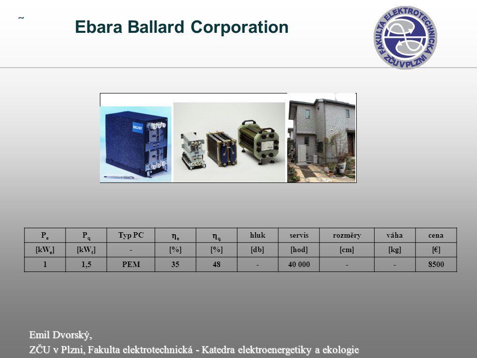  Ebara Ballard Corporation