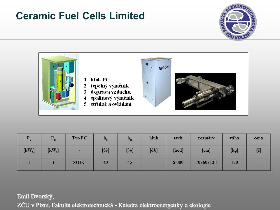 Ceramic Fuel Cells Limited