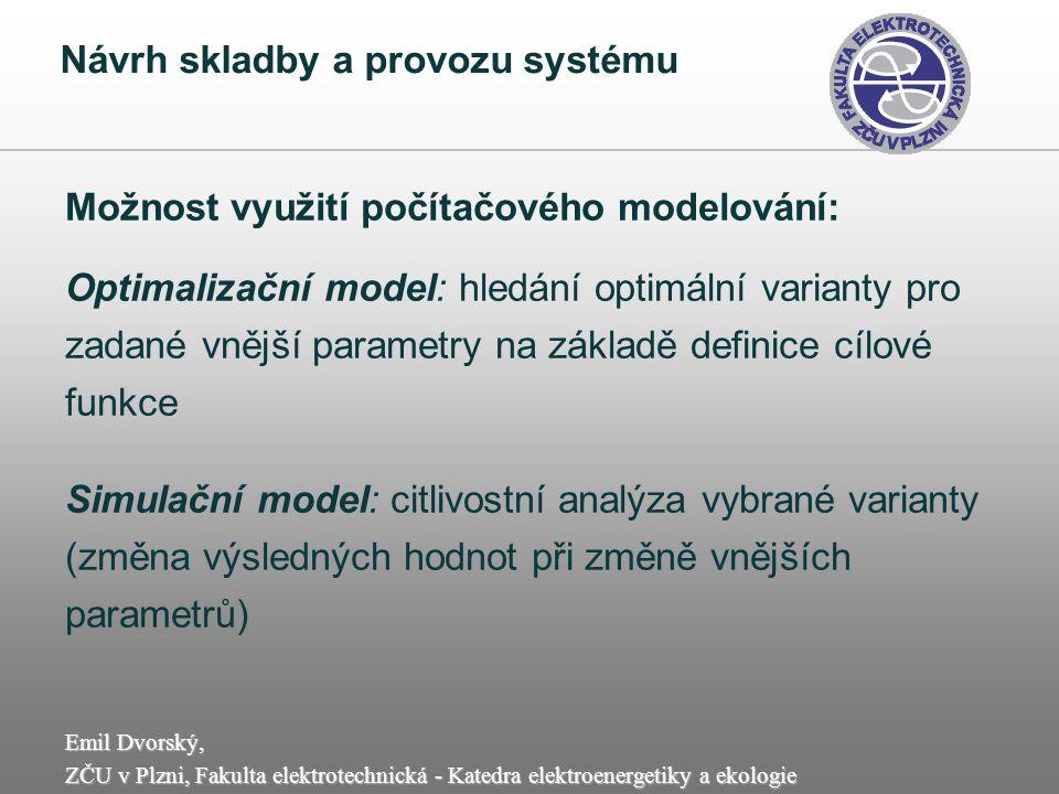 Návrh skladby a provozu systému