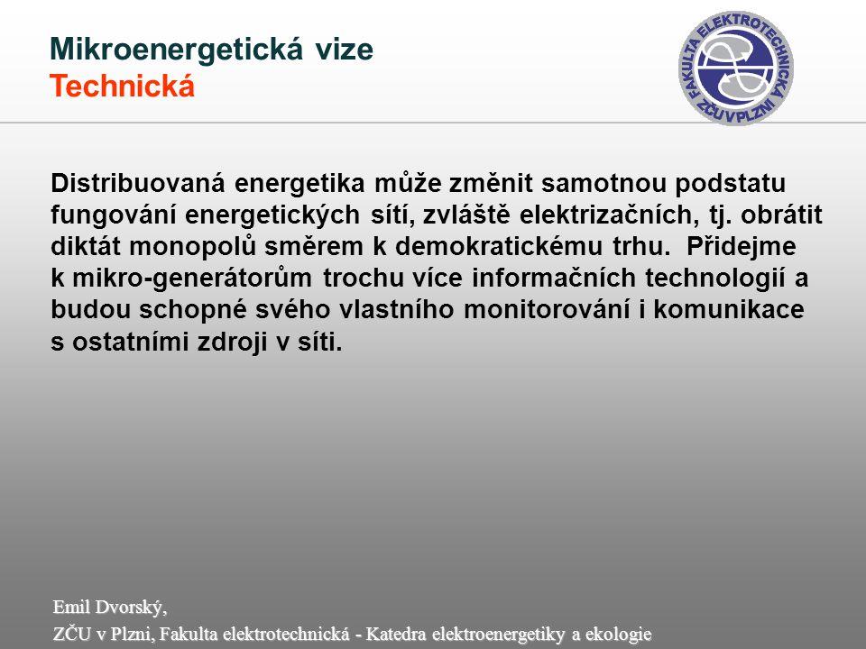 Mikroenergetická vize Technická