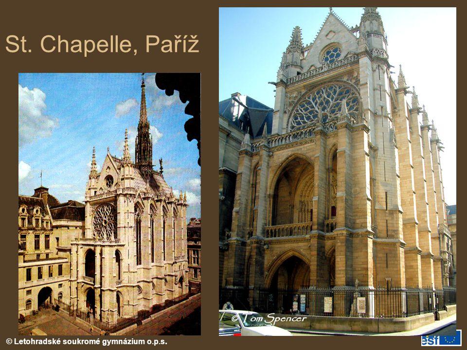 St. Chapelle, Paříž