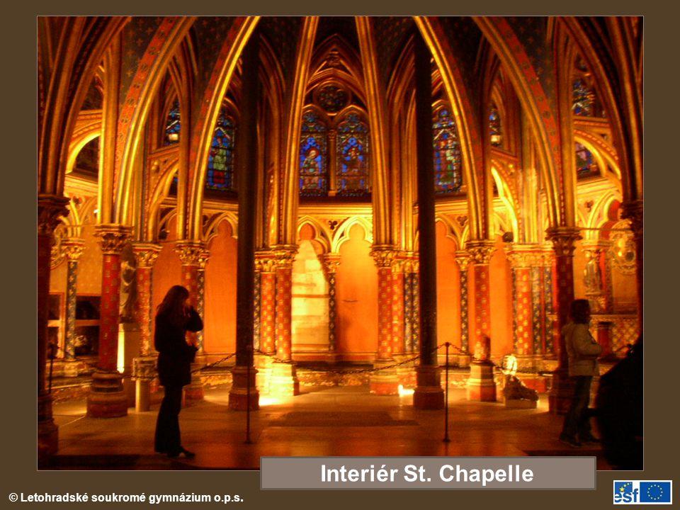 Interiér St. Chapelle