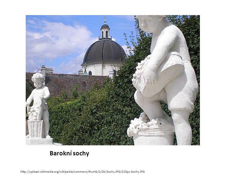 Barokní sochy http://upload.wikimedia.org/wikipedia/commons/thumb/2/2b/Sochy.JPG/220px-Sochy.JPG