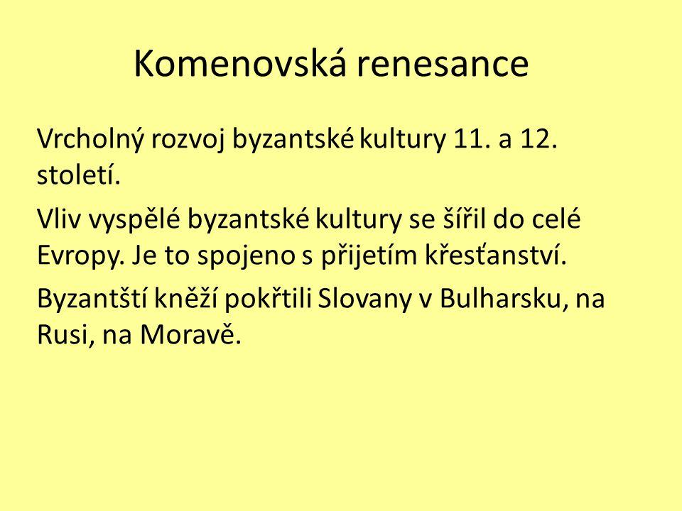 Komenovská renesance