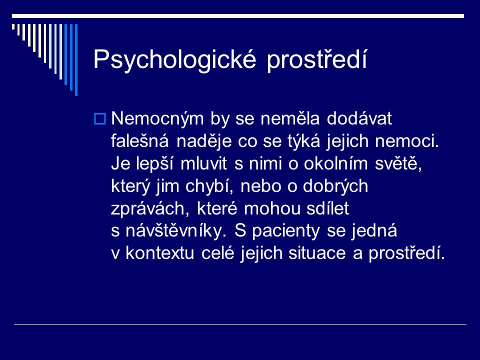 Psychologické prostředí