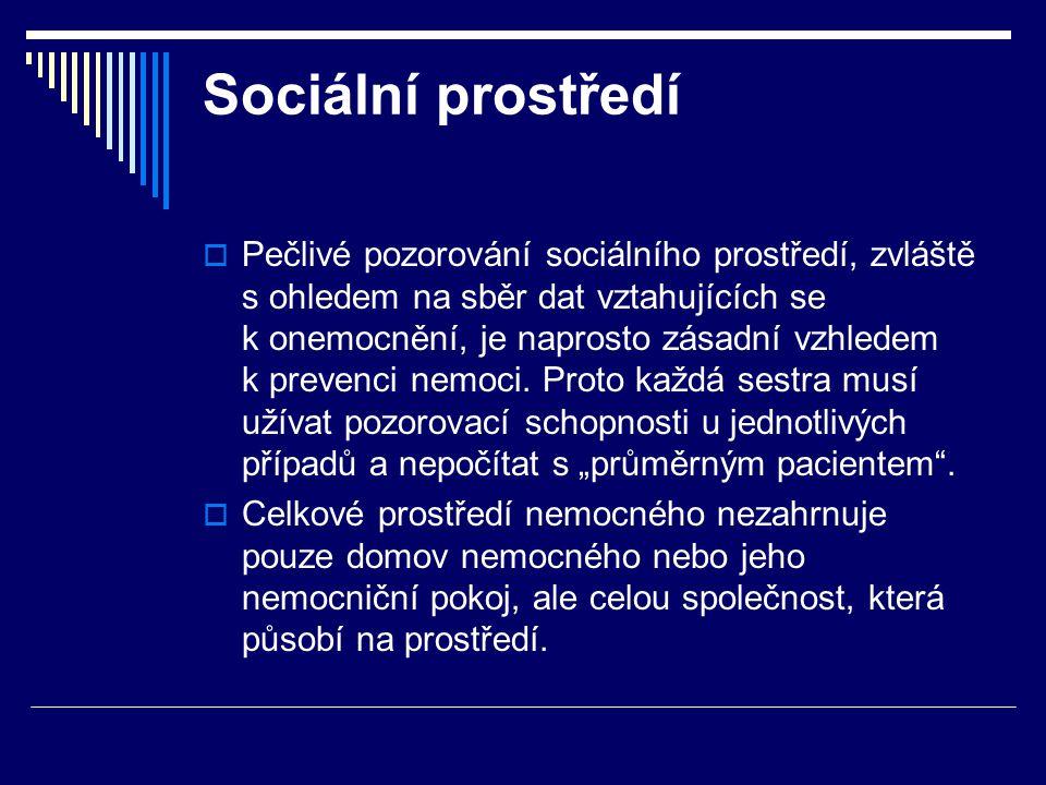 Sociální prostředí