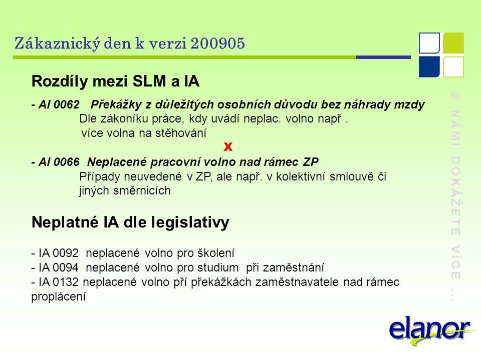 Neplatné IA dle legislativy