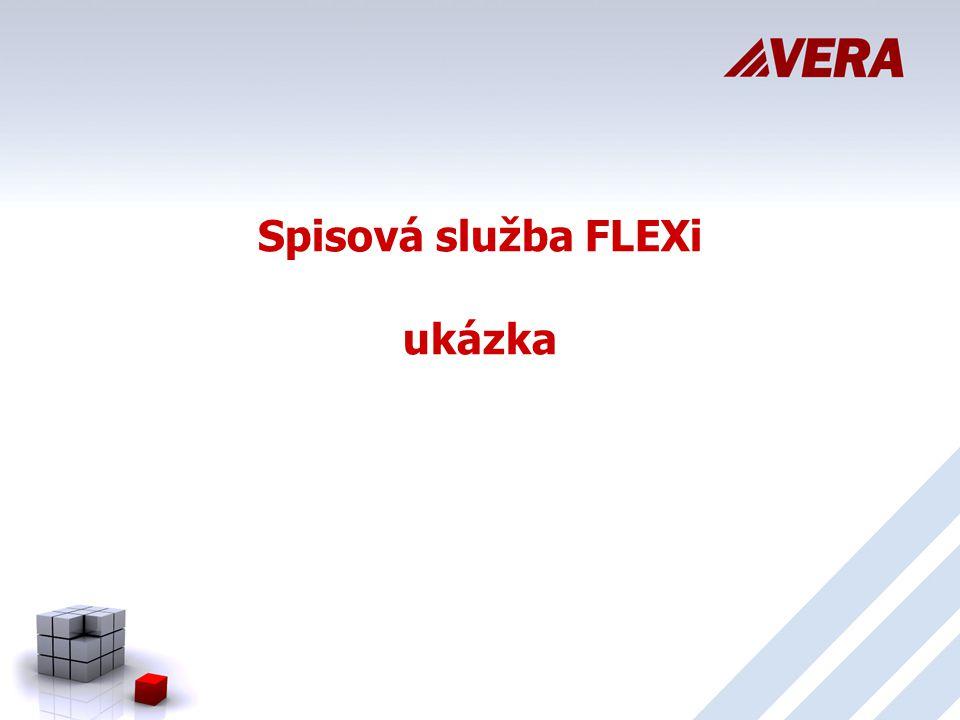 Spisová služba FLEXi ukázka