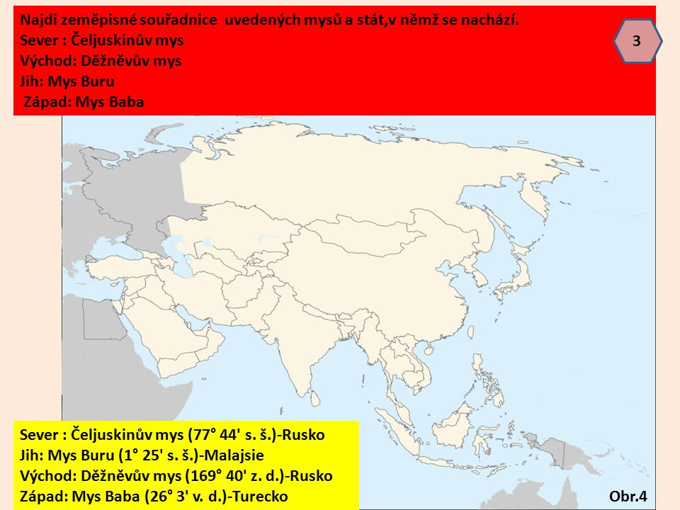 Krajní pevninské body Asie