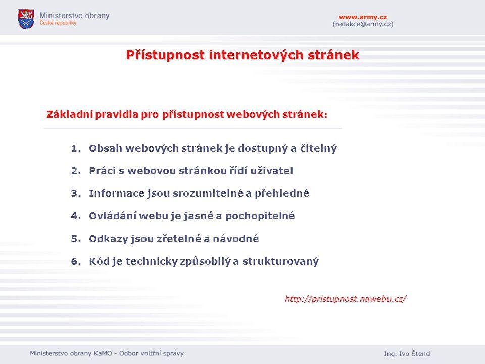 Přístupnost internetových stránek