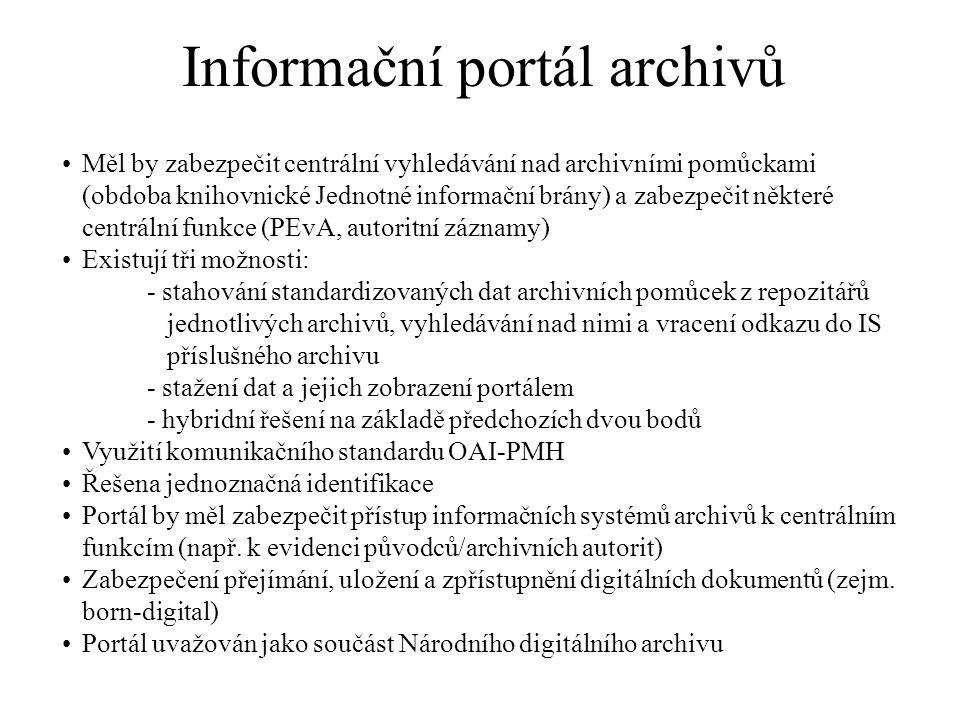 Informační portál archivů